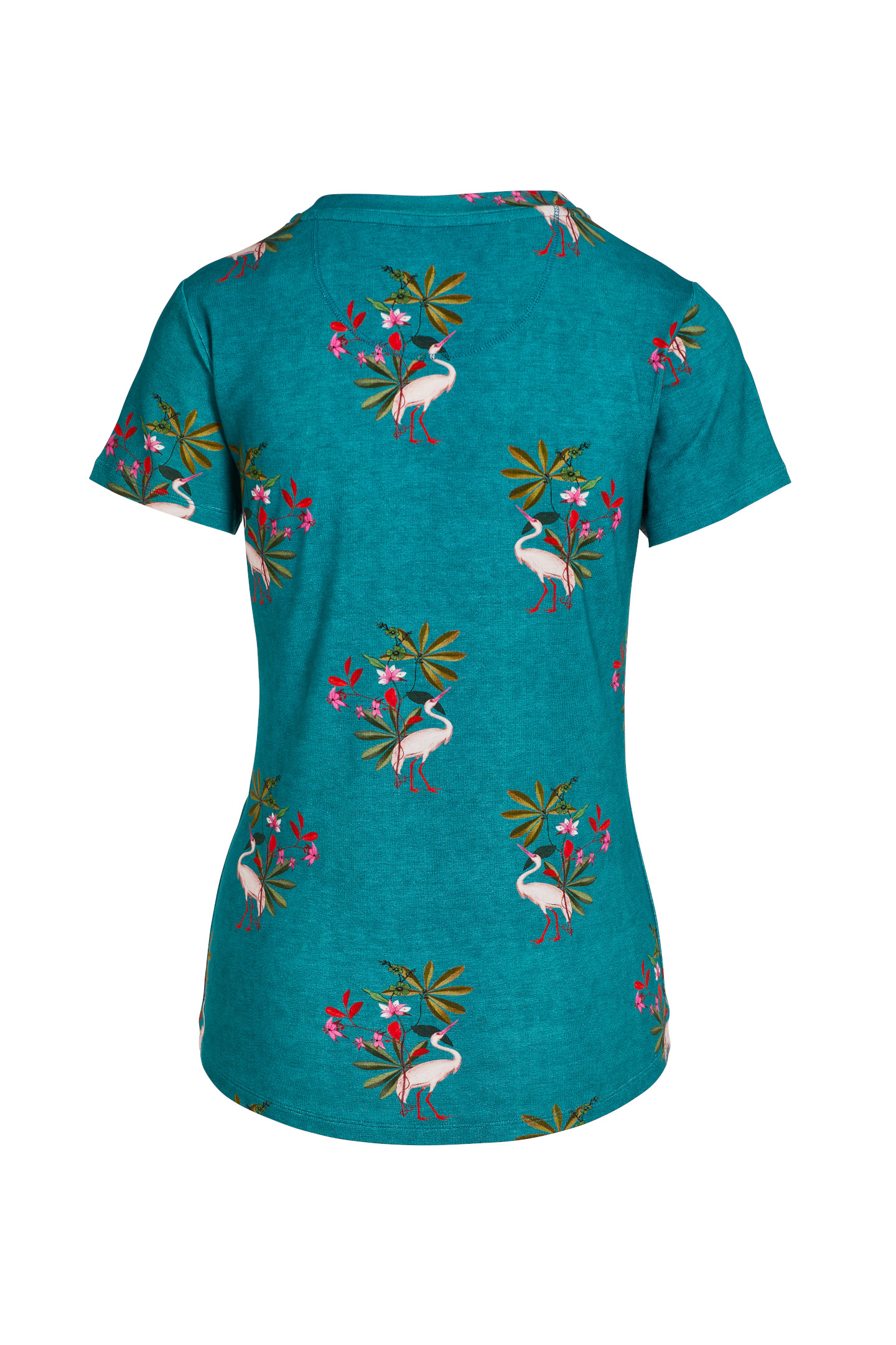 Pip Studio tričko Tanja Short Sleeve My Heron Green